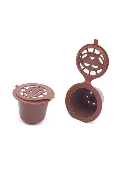 Nespresso kompatibilis újratölthető kávékapszula 1db